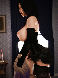Futanari, Dickgirls, Demons-set 1