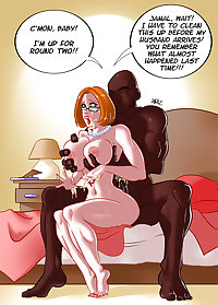 Interracial Cartoons - High Quality-set 2