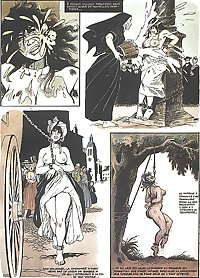 Young Marie-Gabrielles painful destiny (Adult Comic)-set 1