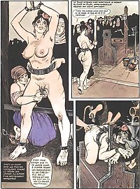 Young Marie-Gabrielles painful destiny (Adult Comic)-set 2