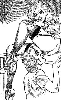 Bill Ward Erotic Art 4-set 1