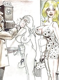 Bill Ward Erotic Art 4-set 2